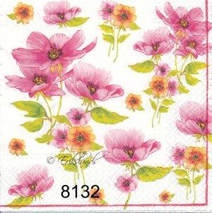 Rosa blommor  8132