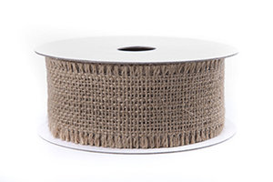 Band Jute Natur 40mm     1meter