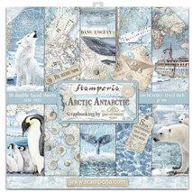 Paper Pack Stamperia - Arctic Antarctic - 12x12 Tum  SBBL77