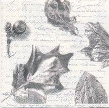 Löv i gråvit nyans   3071