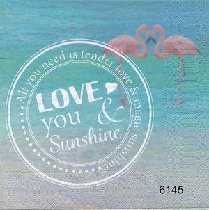 Love you & Sunshine