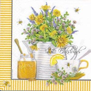 Frukost med the och honung  kaf2010