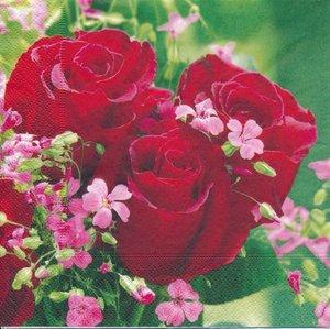 Röda rosor  8256