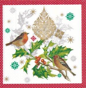 Fåglar i juletid   3149