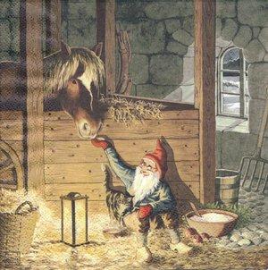 Tomten i stallet