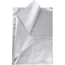 Silkespapper, 50x70 cm, 14 g, silver 25 ark