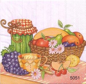 Frukt och sylt olika motiv