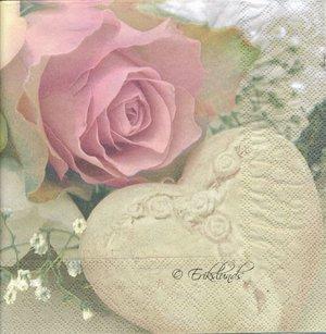 Ros med hjärta