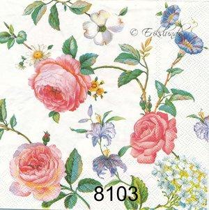 Fina blomslingor  8103