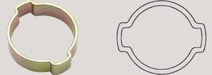 2-ear hose clip 7-9mm Oetiker