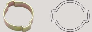 2-ear hose clip 9-11mm Oetiker
