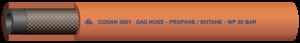 GASOLSLANG 6,3MM ORANGE