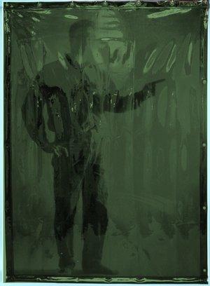 Welding curtain 3000x1400mm GR-6