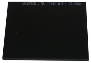 Welding glass Aulektro® 98x75mm 12-din