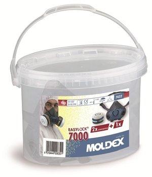 MOLDEX HALVMASK 7000 + FILTER A2P3