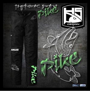 Waterproof Pike Angler Thermic Pants