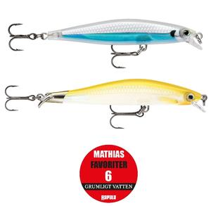 "Rapala ""Mathias Holgerssons Favoriter 6"" - Grumligt Vatten / 2-pack"