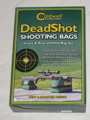 Caldwell skjutsäck - Dead Shot combo
