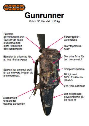 Eberlestock Gunrunner - HO Timber Veil