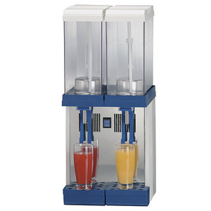 Kall dryckesdipenser, 2x9 Liter