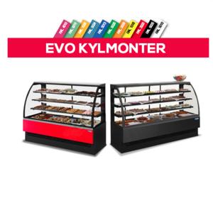 Kylmonter, EVO180V, TECNODOM