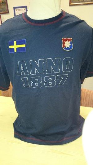T-shirt blå Anno 1887