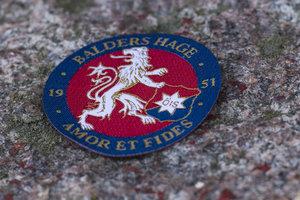 Tygmärke Balders Hage