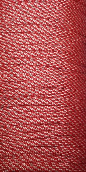 Paracord Röd/Vit