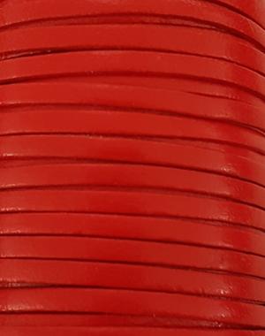 Läderrem flat 3 mm