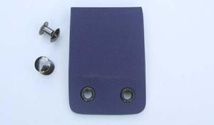 Kydex belt loop - police blue
