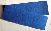 Vulkanfiber - remsa blå 0,8 mm