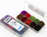 SLF Dubbing Sortiment - Dark colors