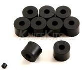 Gummibricka 9,5 mm för kydexmontage 10-pack