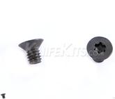 Skruv 6,3 mm för kydexmontage - försänkt huvud Torx 10-pack