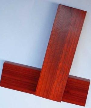 Red wood skalor x2
