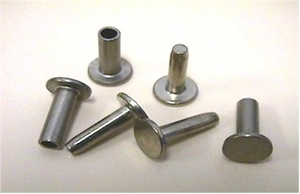 Cutlery rivets Nysilver 25-pack