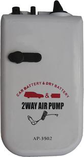 Syrepump för batteri eller elutag i bil