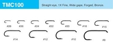 Tiemco TMC 100 Torrflugekrok