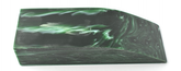 Akryl block Malachite