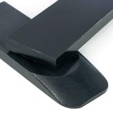 Micarta skalor 10 mm - Svart
