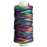Vaxad handsytråd 25 yards - Multicolor
