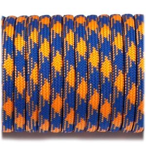 Paracord 550 - Blue Orange Camo