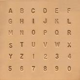 Puns set - Alfabet och siffror