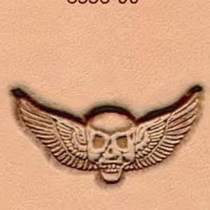 3D Puns - Skull 8558