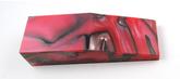 Akryl block Red/Pearl