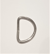 25-pack D-ring 15 mm - Nickel