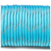 Paracord 550 - Reflective Ice Blue