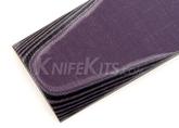 "G10 Purple / Black 1/4"""