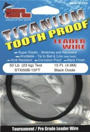 AFW Titanium Tooth Proof