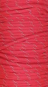 Paracord Reflective Red